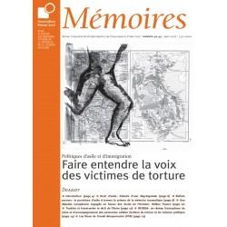Faire entendre la voix des victimes de torture