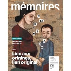 Revue Mémoires N°58 (mai 2013)